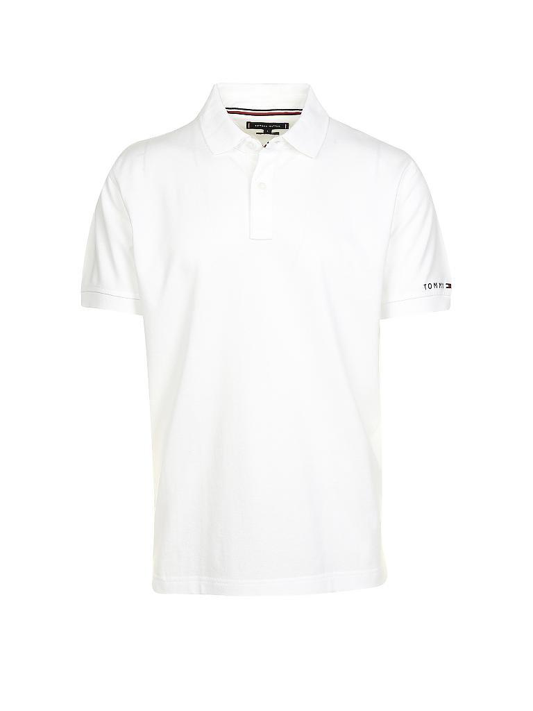 8b81f1243fa8 TOMMY HILFIGER Poloshirt Regular-Fit weiß   S