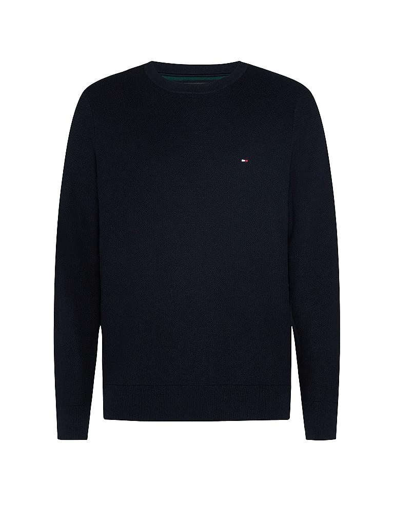 TOMMY HILFIGER | Pullover Regular Fit  | blau