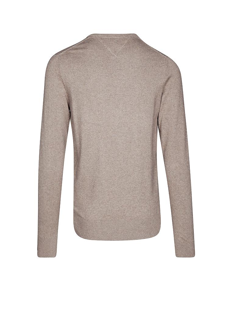 tommy hilfiger pullover regular fit cotton cashmere braun m. Black Bedroom Furniture Sets. Home Design Ideas