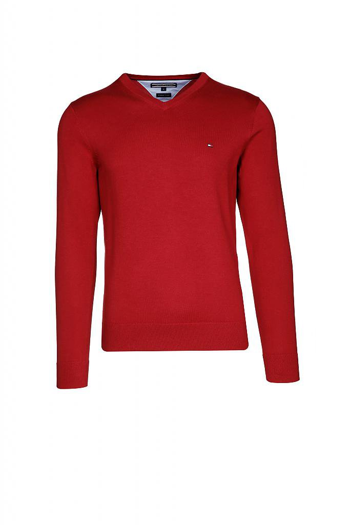 TOMMY HILFIGER | Pullover | rot