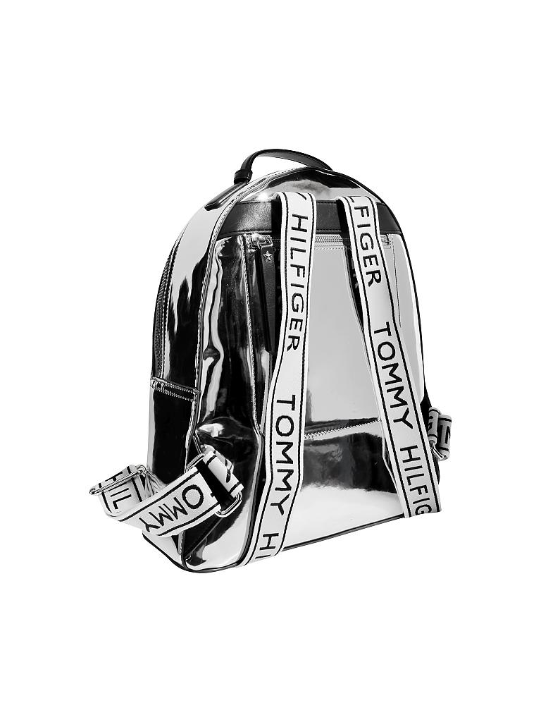 "TOMMY HILFIGER Rucksack ""Iconic"" silber"