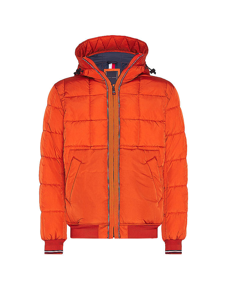 TOMMY HILFIGER | Steppjacke | orange