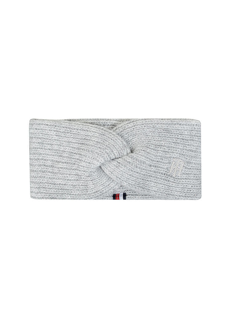 TOMMY HILFIGER | Stirnband TH Effortless | grau