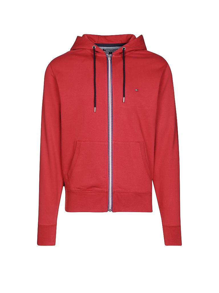 TOMMY HILFIGER | Sweat-Weste  | rot
