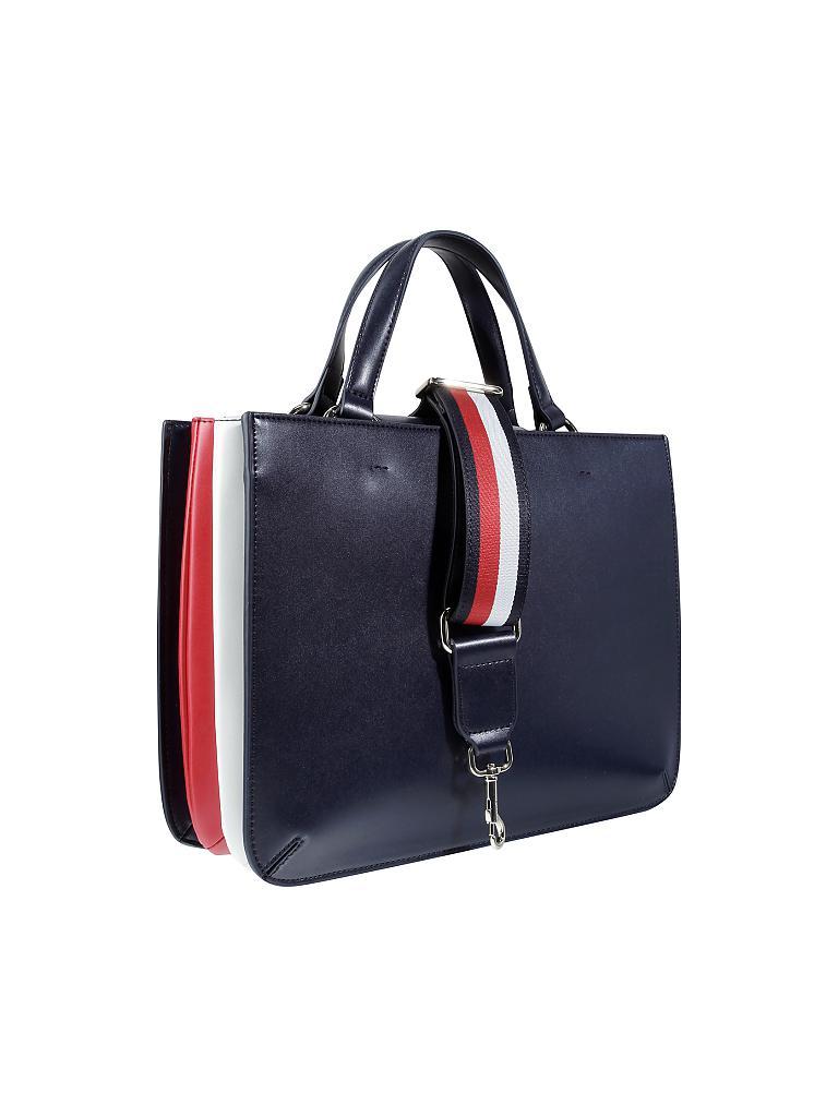 tommy hilfiger tasche handtasche youthful blau. Black Bedroom Furniture Sets. Home Design Ideas