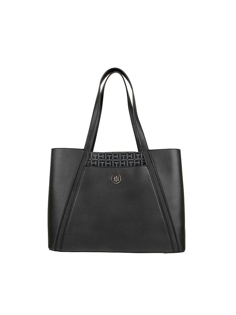 tommy hilfiger tasche workbag bag in bag schwarz. Black Bedroom Furniture Sets. Home Design Ideas
