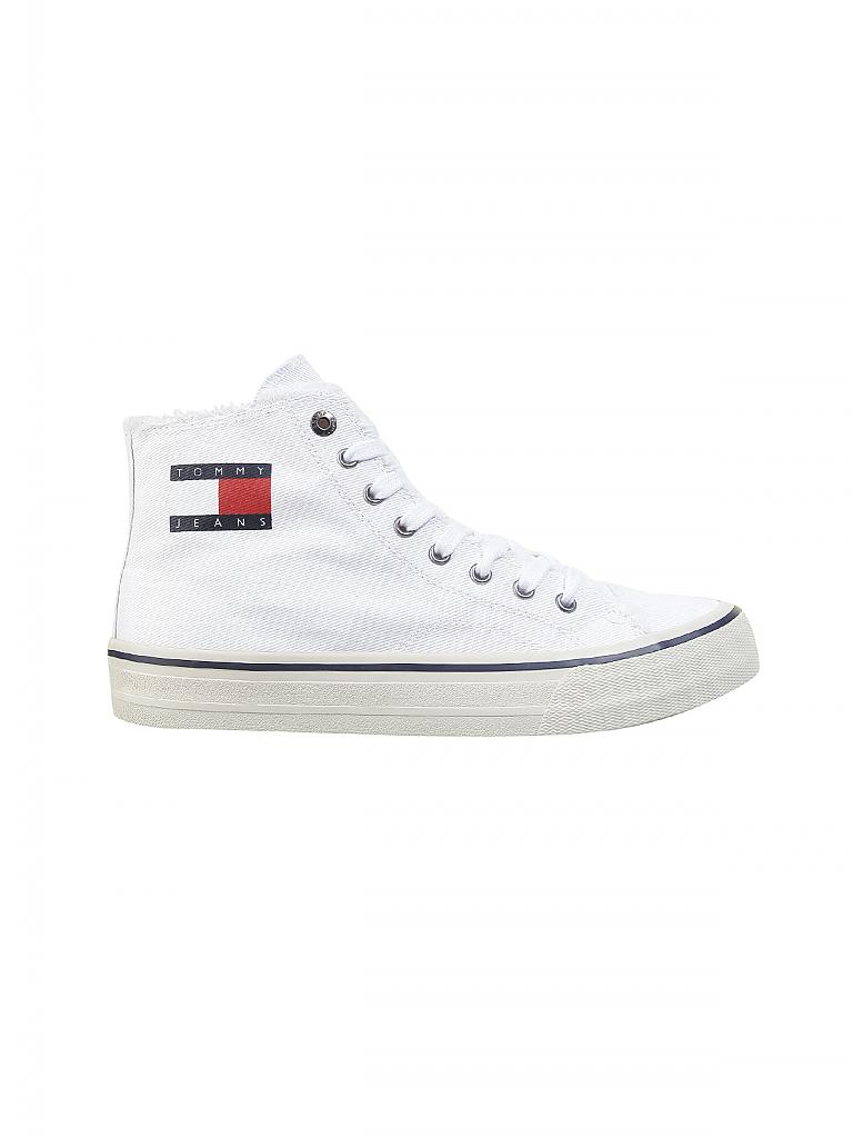 TOMMY JEANS | Sneaker Hightop | weiß