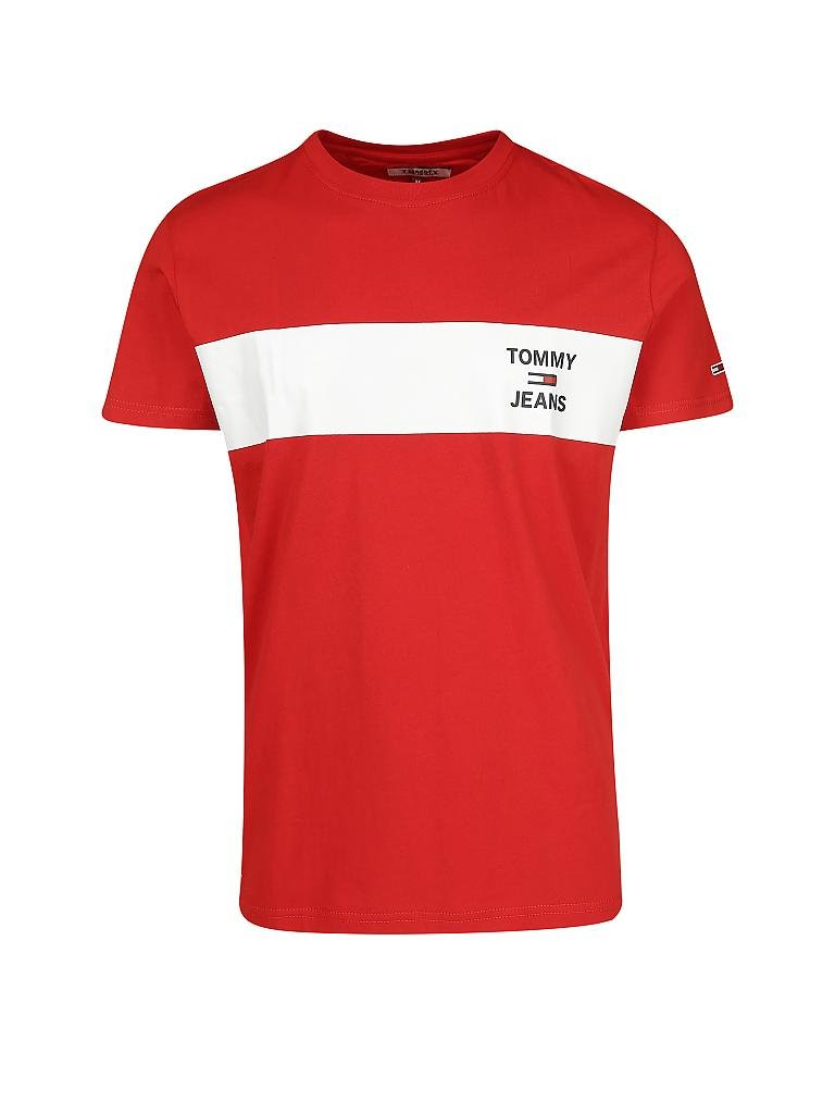 TOMMY JEANS | T-Shirt | rot