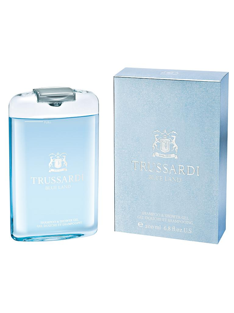 TRUSSARDI | Blue Land Shower Gel 200ml | transparent