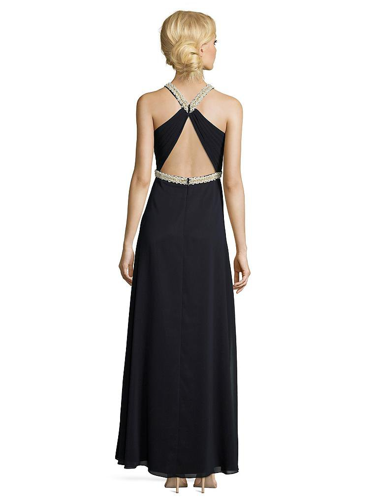Stilvolle Vera Mont Kleid Blau Mit Blumen Fotos - Bilder ...