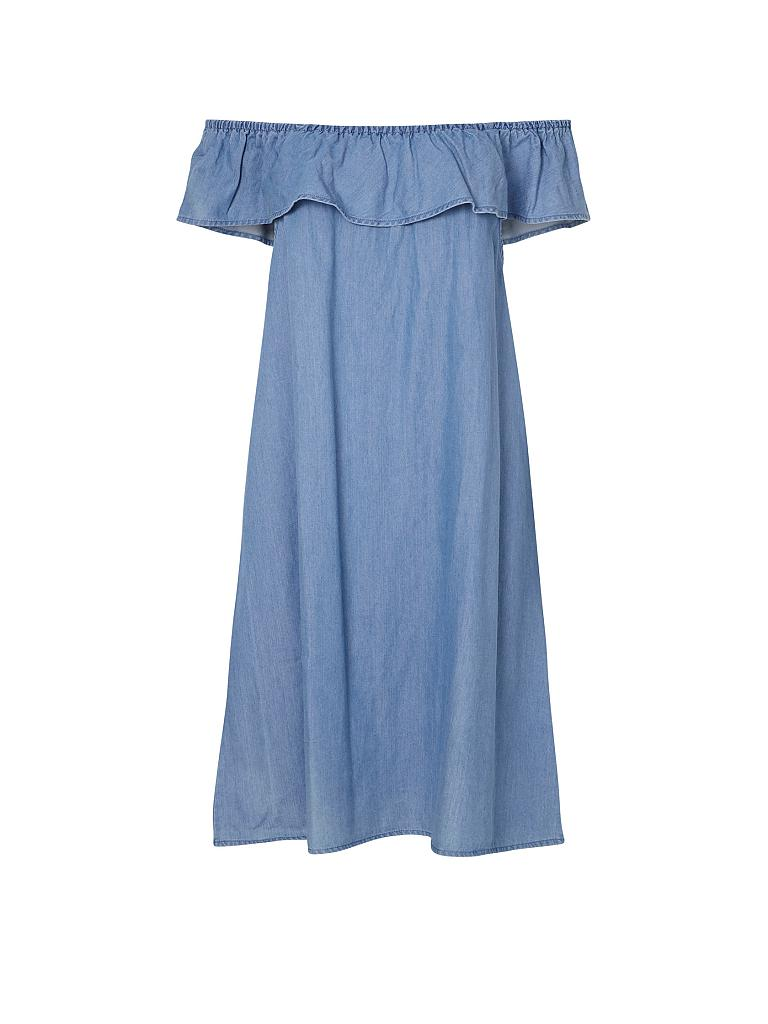 Vero moda kleid blau blumen