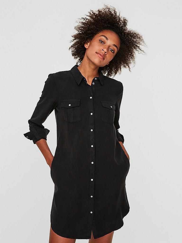 VERO MODA Kleid VMSILLA schwarz | XS
