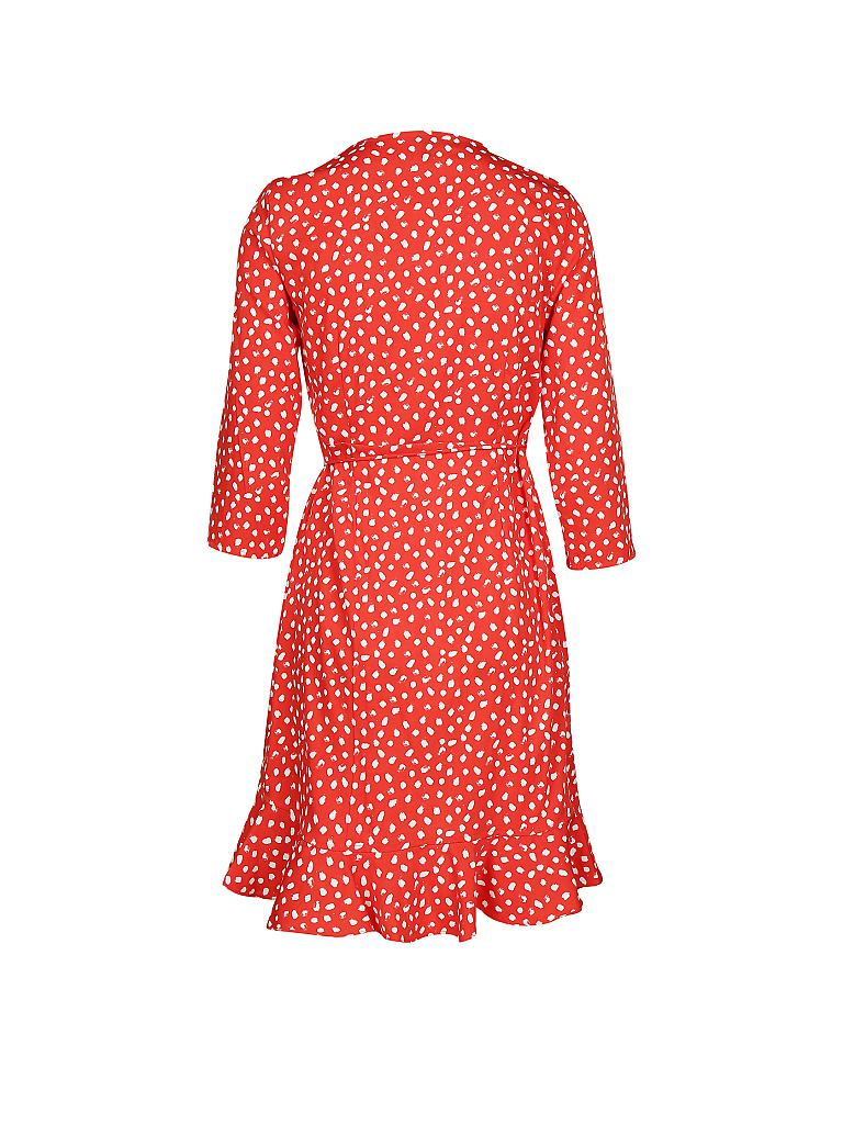 Vero moda wickelkleid rot