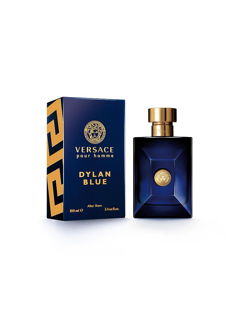 VERSACE | Dylan Blue pour Hoome After Shave Lotion 100ml | transparent