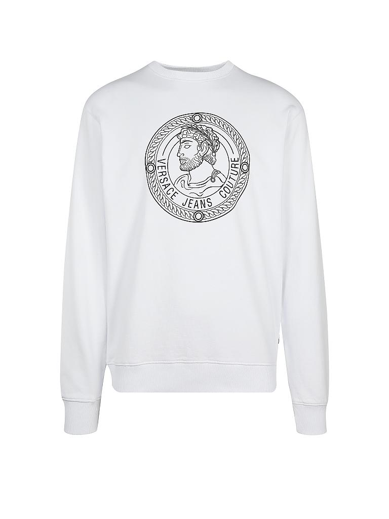 VERSACE Sweater weiß | L