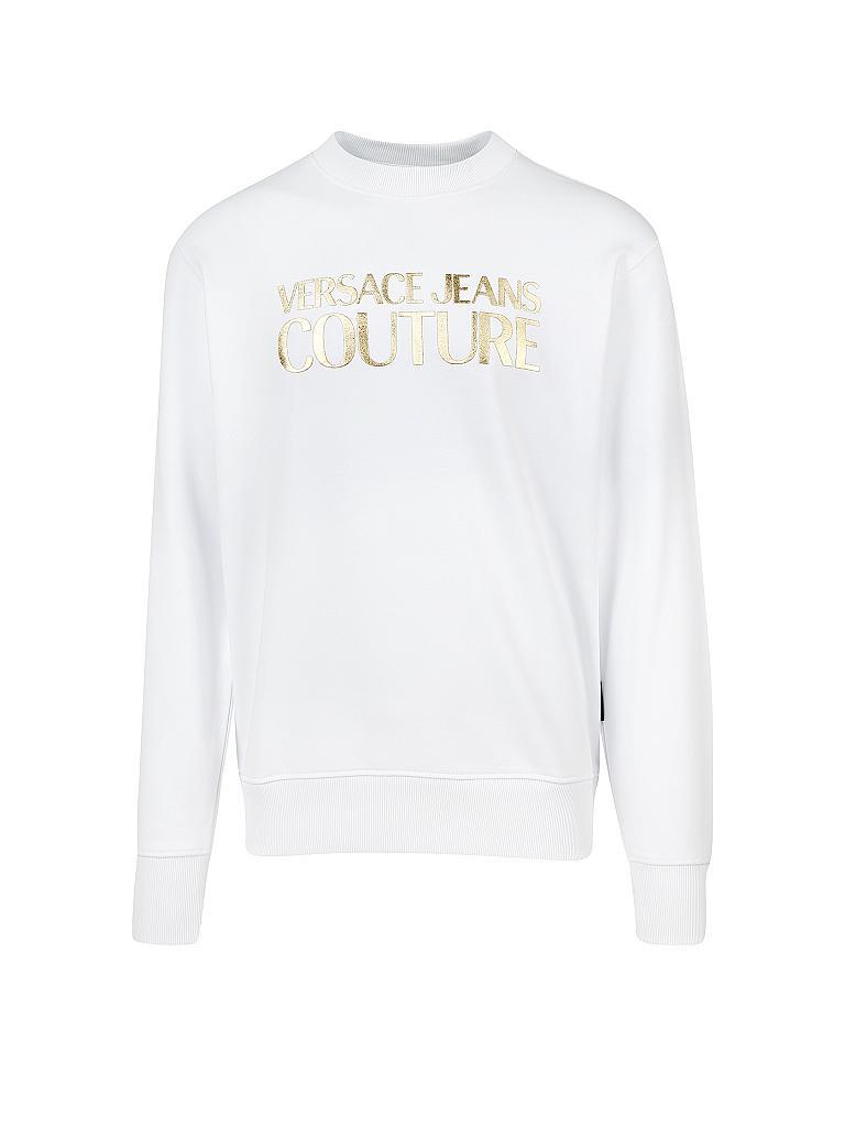 versace sweatshirt weiß