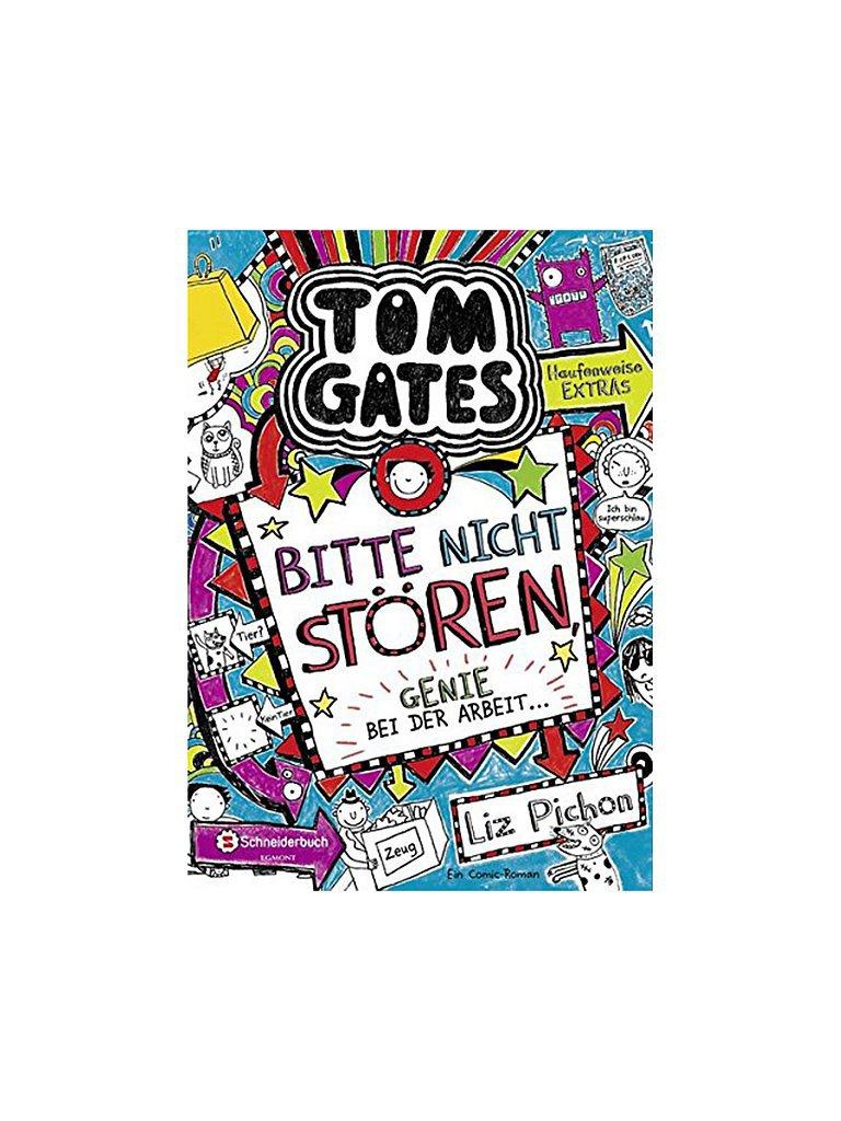 VGS EGMONT SCHNEIDER VERLAG Buch - Tom Gates Band 08 - Bitte nicht stören - Genie bei der Arbeit (Gebundene Ausgabe)