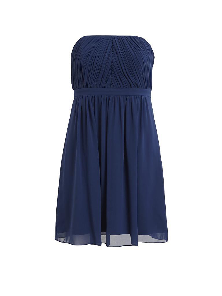 VILA Partykleid blau   L