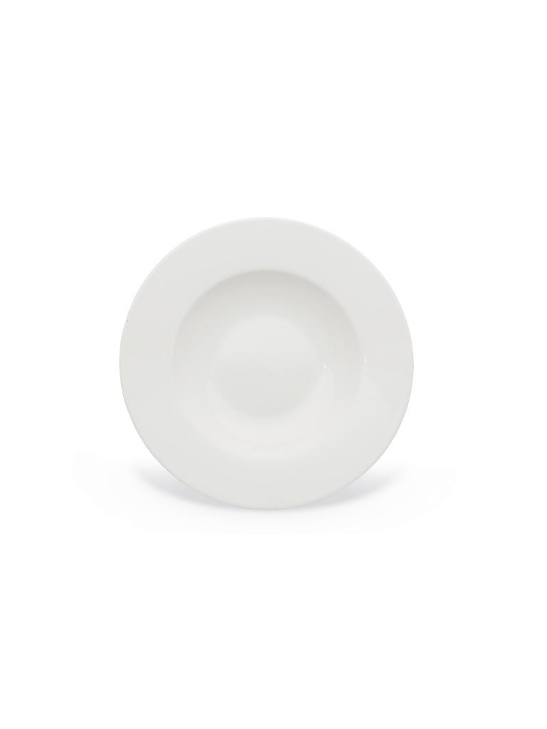 "VILLEROY & BOCH | Suppenteller 24cm ""Wonderful World White""  