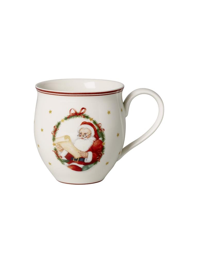 VILLEROY & BOCH | Toys Delight - Henkelbecher Mr & Mrs Claus 0,44l | bunt