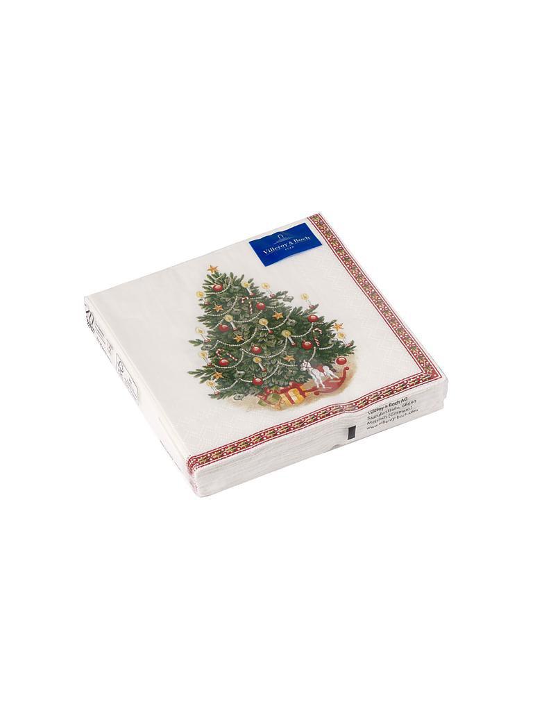 Villeroy Boch Tannenbaum.Weihnachts Lunch Servietten Tannenbaum Winter Specials