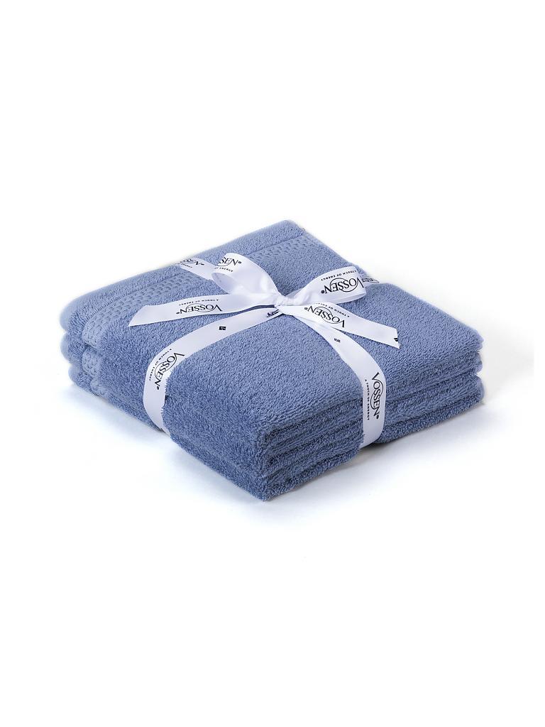 vossen handtuch set missouri 3 tlg 50x100cm smoke blue. Black Bedroom Furniture Sets. Home Design Ideas
