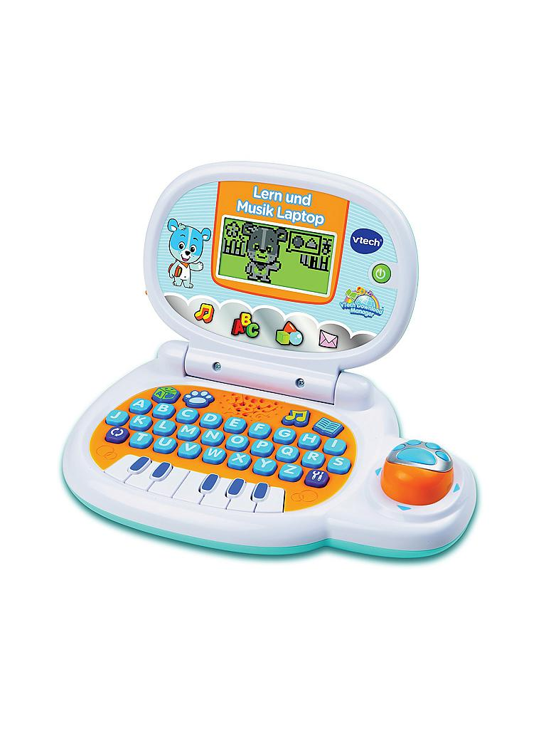 VTECH | Lern und Musik Laptop  | transparent