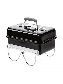 weber grill go anywhere holzkohle grill schwarz. Black Bedroom Furniture Sets. Home Design Ideas
