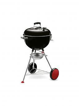 weber grill holzkohlen grill kettle plus 47cm schwarz. Black Bedroom Furniture Sets. Home Design Ideas