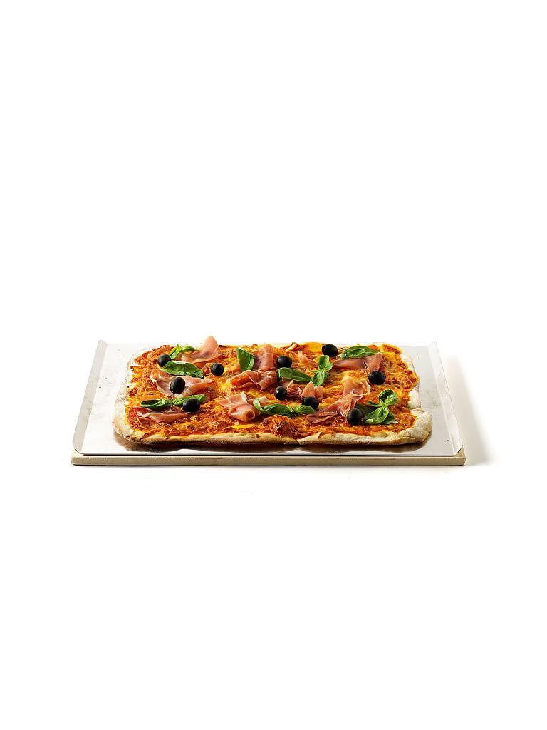 weber grill pizzastein eckig 44 x 30cm braun. Black Bedroom Furniture Sets. Home Design Ideas