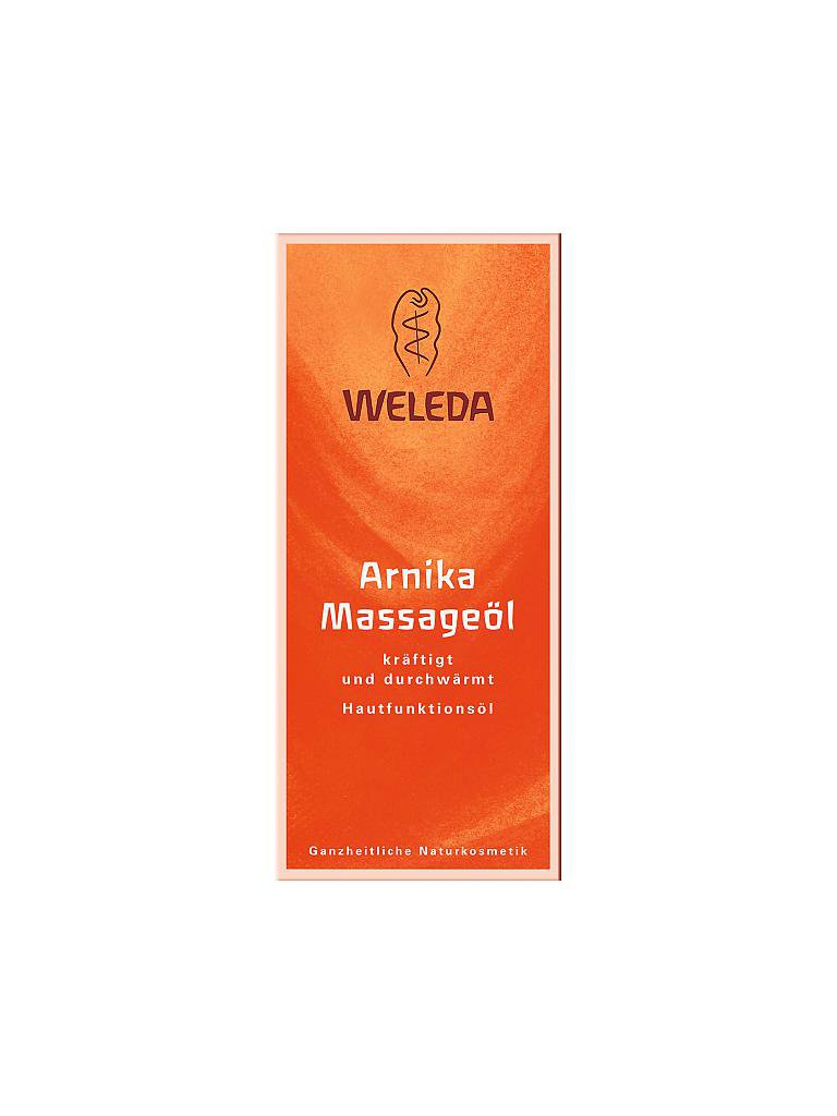 WELEDA | Arnika - Massageöl 100ml | transparent