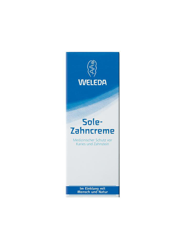 WELEDA | Sole Zahncreme 75ml | transparent