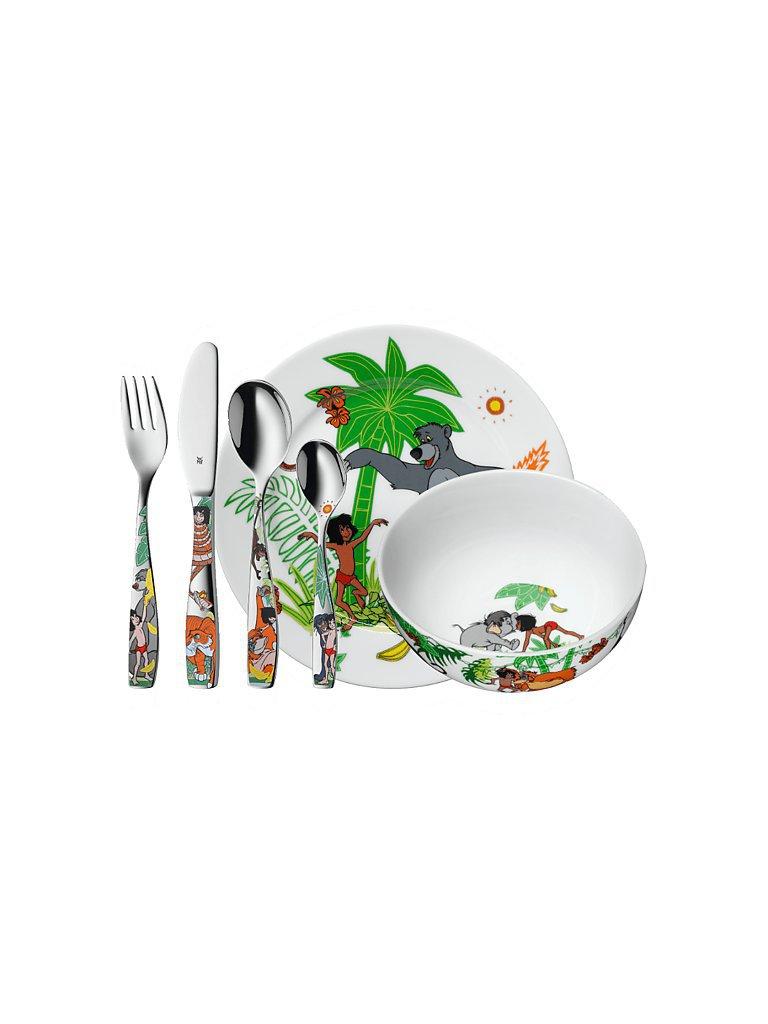 WMF Kinderbesteck-Set 6-teilig Dschungelbuch bunt
