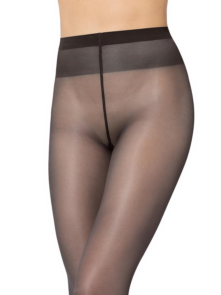 "WOLFORD | Feinstrumpfhose ""Satin Touch 20"" 18378 (nearly black) 