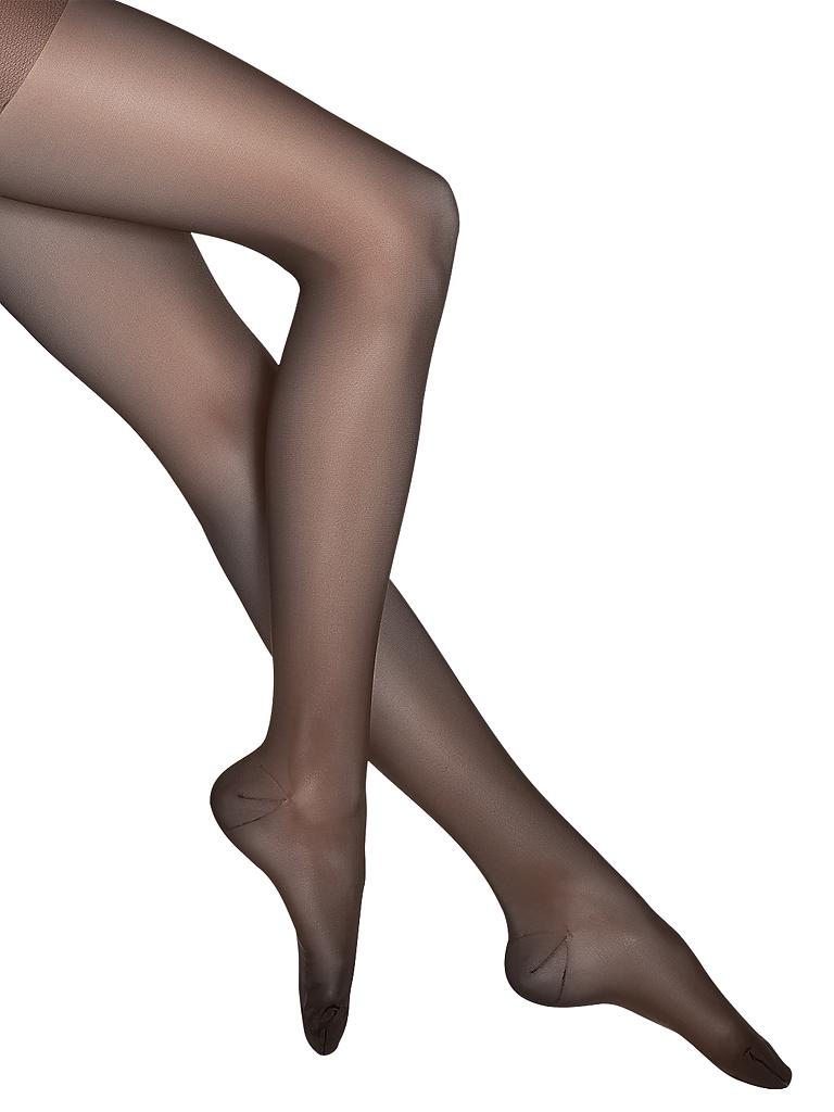 "WOLFORD | Stützstrumpfhose ""Miss W 30 Leg Support"" 11218 (nearly black) 