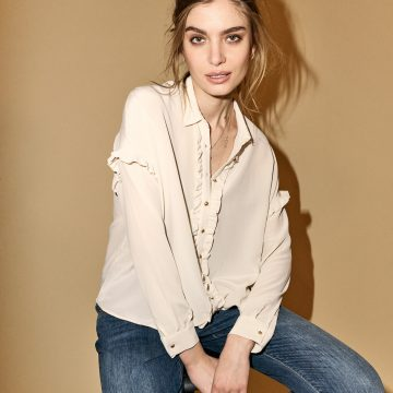 123410 124480 – Raffey Silk Shirt Bradford Favourite Jeans  – LookBook