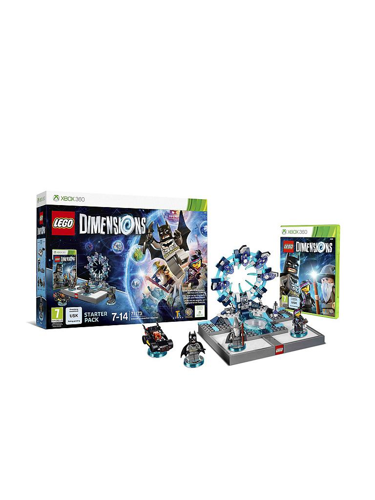 X-BOX 360 | LEGO DIMENSIONS - Starter Pack | transparent