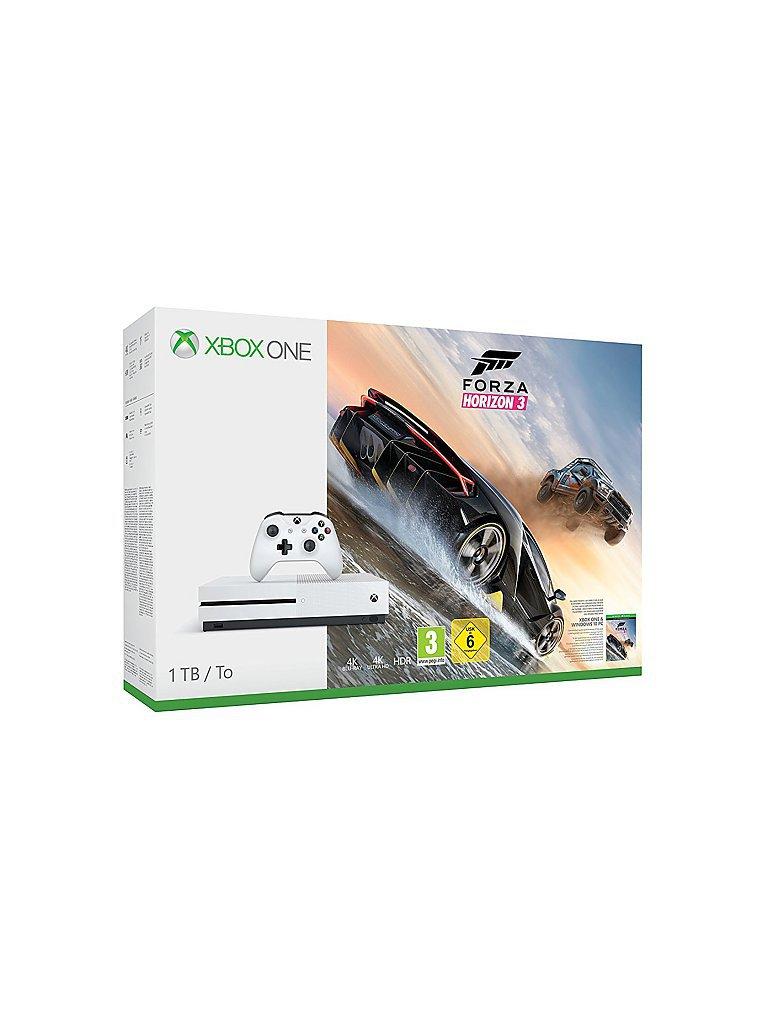 X-BOX ONE Xbox One S 1TB Konsole - Forza Horizon 3 Bundle