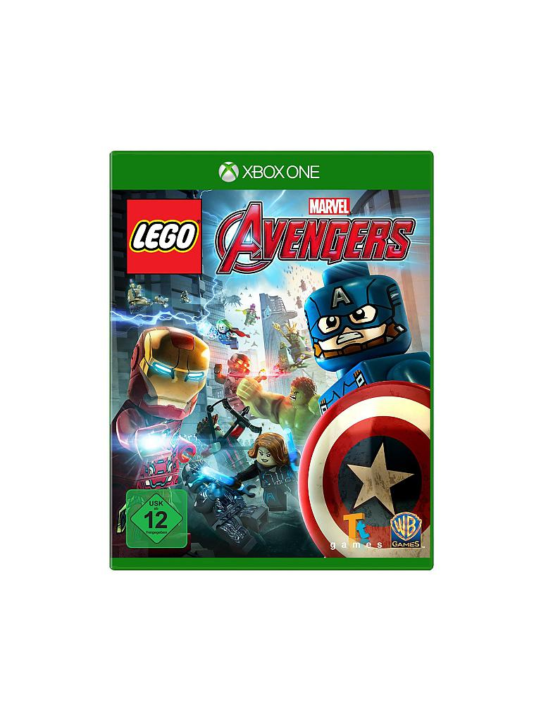 X-BOX ONE | LEGO - Marvel Avengers | transparent