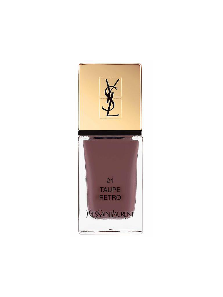 YVES SAINT LAURENT | Nagellack - La Laque Couture (21 Taupe Retro) | grau