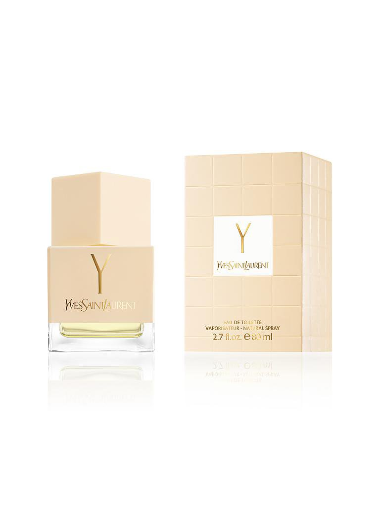 YVES SAINT LAURENT | Y Eau de Toilette Spray 80ml | transparent