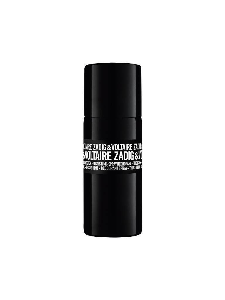 ZADIG & VOLTAIRE | This Is Him! Deodorant Spray 150ml | transparent