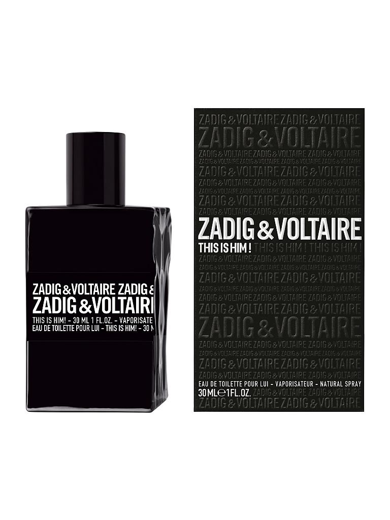 ZADIG & VOLTAIRE | This Is Him! Eau de Toilette Vaporisateur 30ml | transparent
