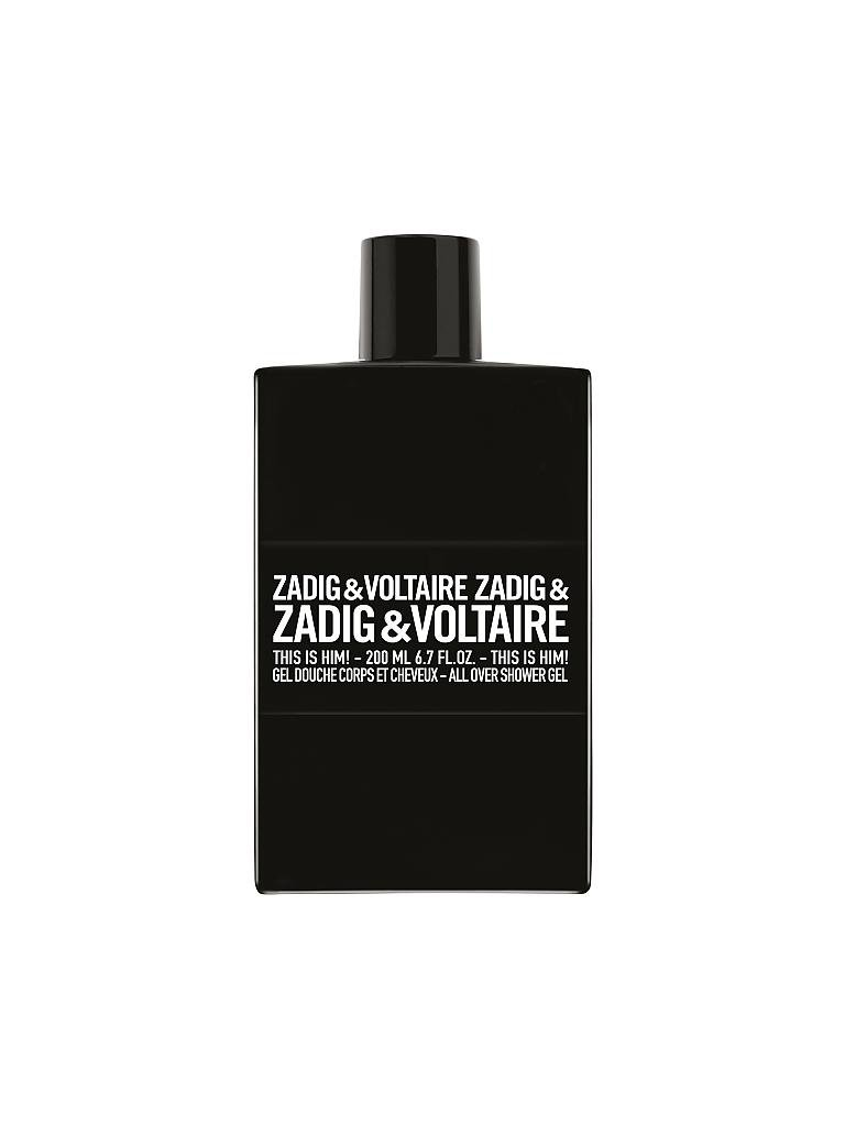 ZADIG & VOLTAIRE | This Is Him! Shower Gel 200ml | transparent