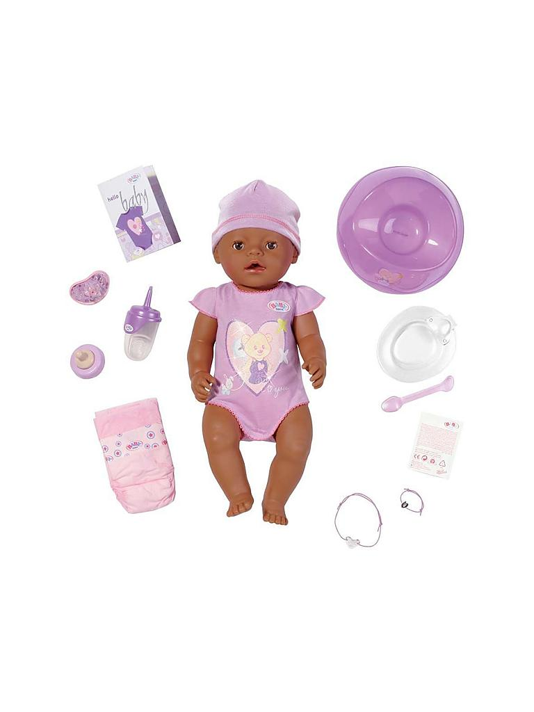 ZAPF | Baby Born - Interactive Ethnic Puppe 819210  | transparent