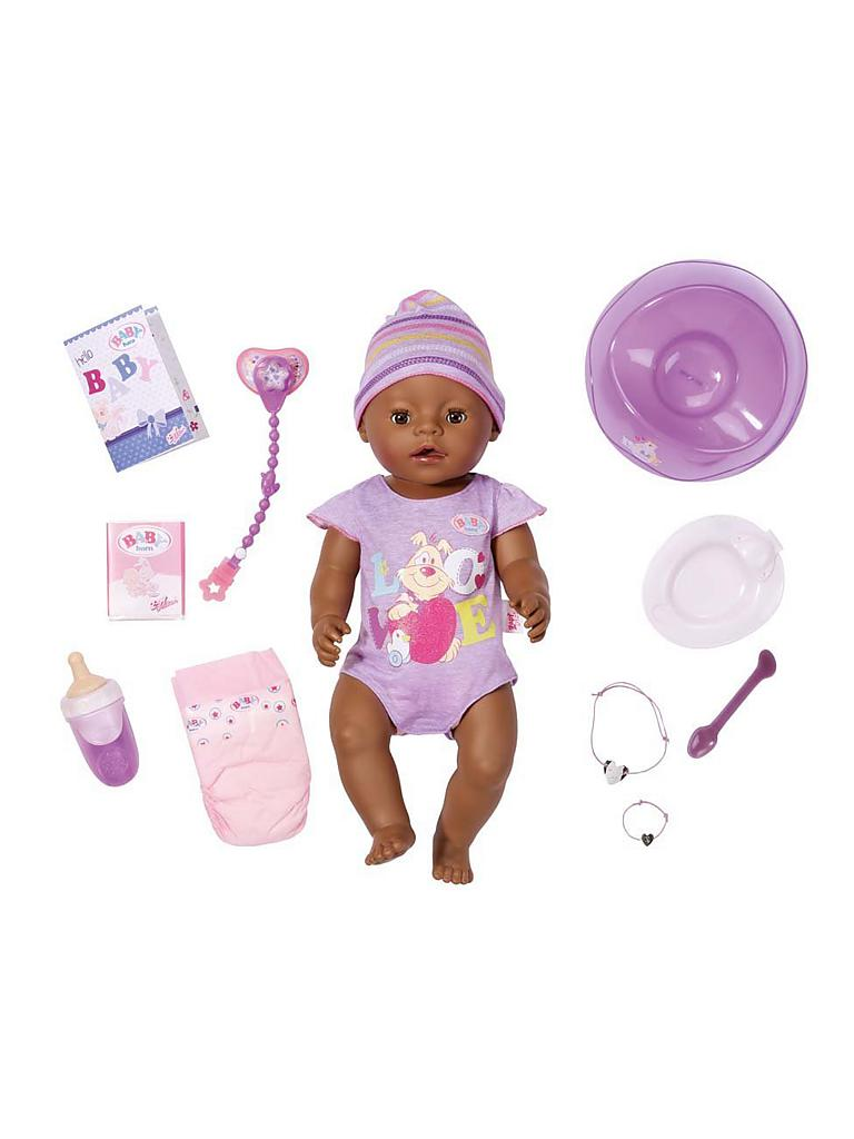 ZAPF | Baby Born - Interactive Ethnic Puppe 822029 | transparent