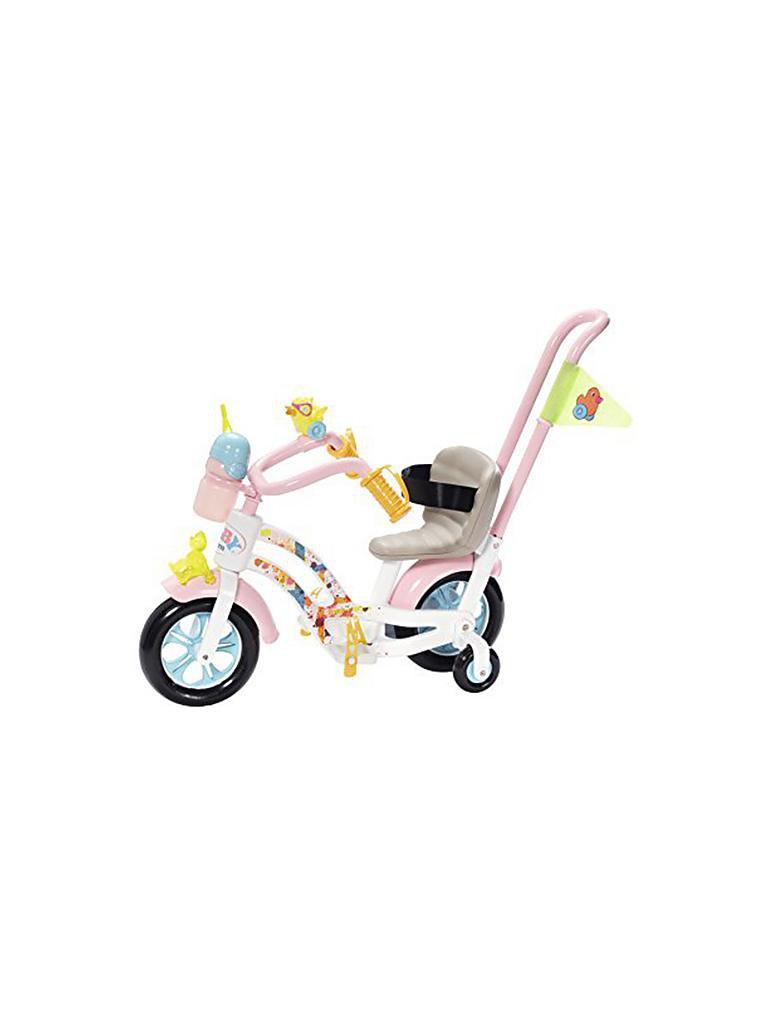 zapf baby born play und fun deluxe fahrrad set transparent. Black Bedroom Furniture Sets. Home Design Ideas