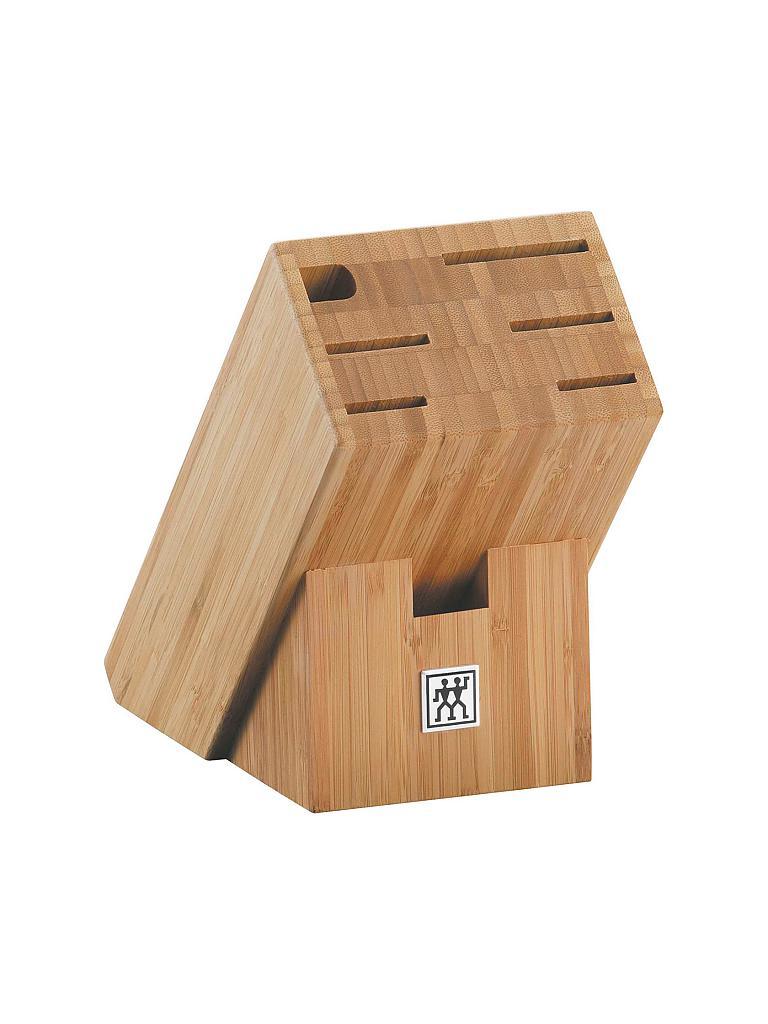 zwilling messerblock bambus braun. Black Bedroom Furniture Sets. Home Design Ideas